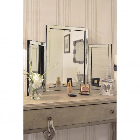 Mirror Outlet Moreton Mirror, Silver