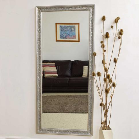 Mirror Outlet Langton Mirror, Silver