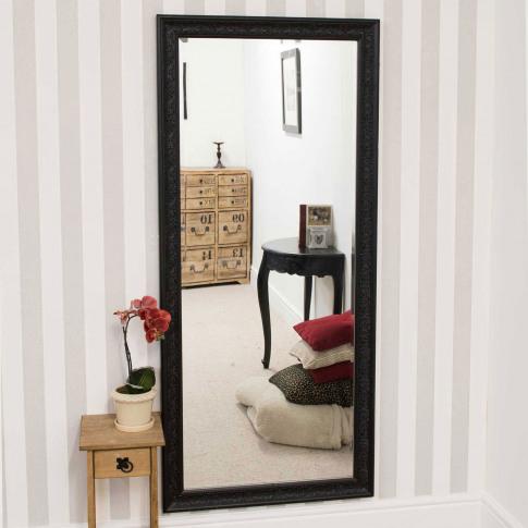 Mirror Outlet Langton Black Mirror