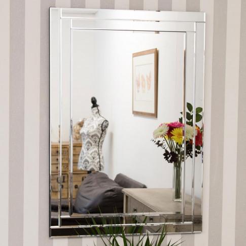 Mirror Outlet Luxford Frameless Mirror