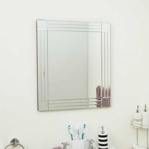 Mirror Outlet Milton Frameless Mirror