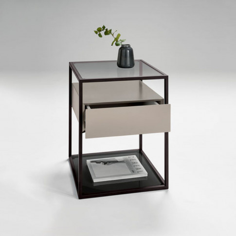 Casa Tribeca Lamp Table With Drawer