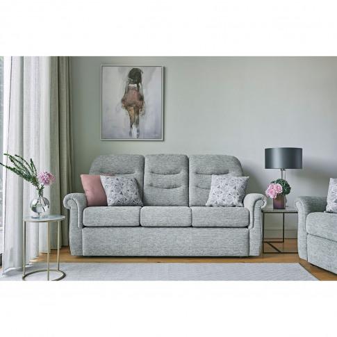 G Plan Holmes 3 Seater Fabric Sofa