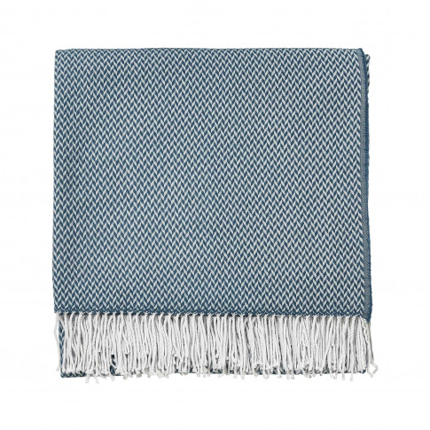 Sanderson Paper Doves Throw, 130x170cm, Denim
