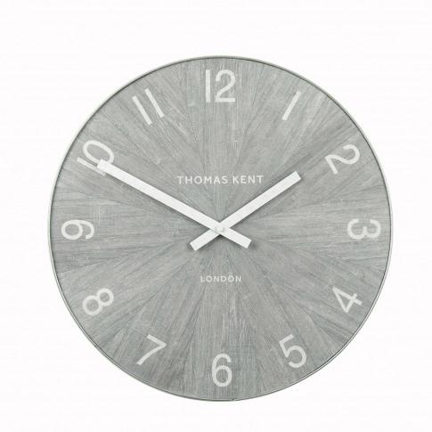 Thomas Kent Wharf Wall Clock Limestone 38cm, Limestone