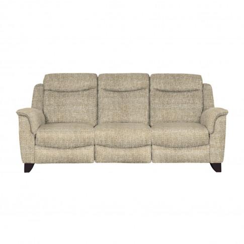 Parker Knoll Manhattan 3 Seater Sofa, Euphoria Duck Egg