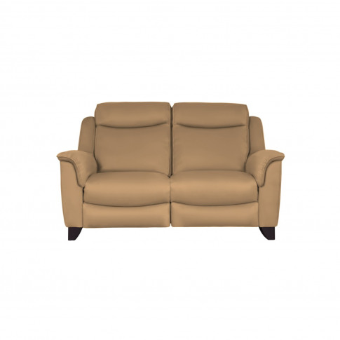 Parker Knoll Manhattan 2 Seater Leather Sofa, Caramel