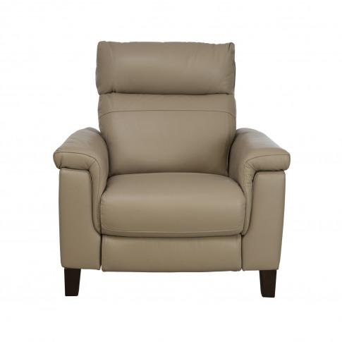 Casa Hugo  Power Recliner Leather Armchair & Headres...