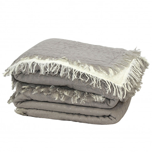 M.M Linen Tali Throw, 150cm X 200cm, Natural