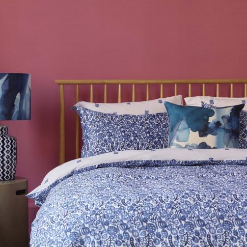 Bluebellgray Wee Pomegranate Single Pillowcase 50 X 75cm, White