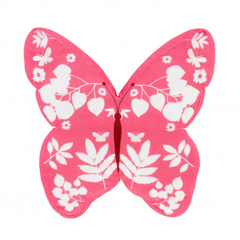Catherine Lansfield Butterfly 3d Cushion, 40cm X 40c...