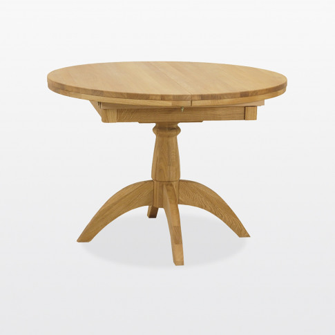 Casa Marseille Round Extending Dining Table
