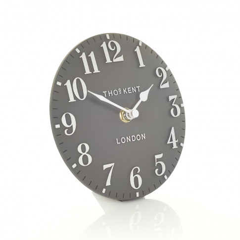 "Thomas Kent 6"" Arabic Mantel Clock, Dolphin"