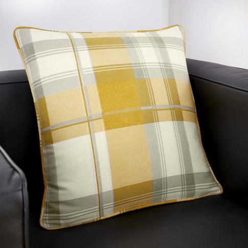 Rosenthal Balmoral Cushion 43x43cm, Ochre