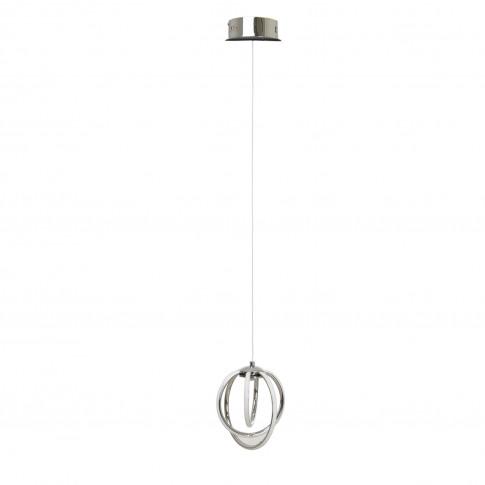 Reynolds 1 Light Ceiling Pendant, Led, Chrome
