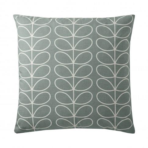 Orla Kiely Small Linear Stem Feather Filled Cushion,...