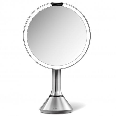 Simplehuman 20cm Sensor Mirror, Brushed Steel