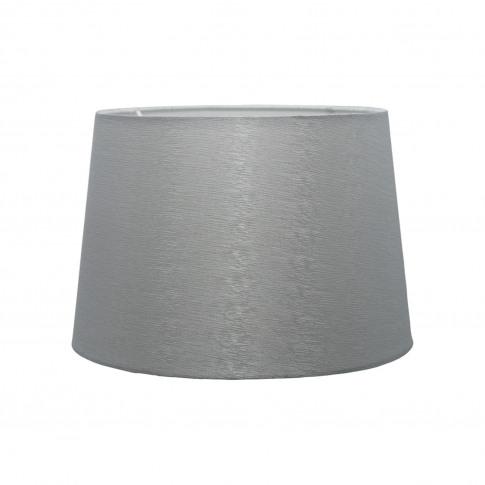 "Casa 12"" Ice Crease Empire Lamp Shade, Grey"