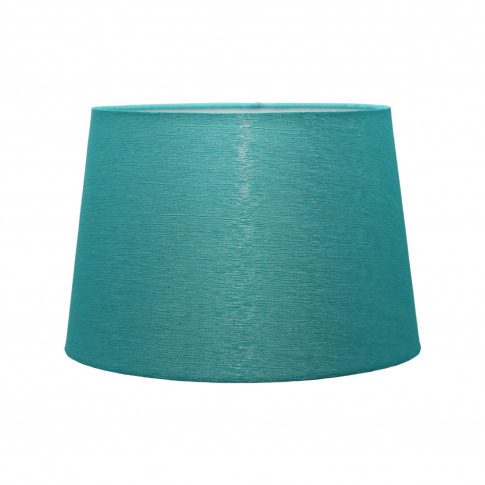 "Casa 14"" Ice Crease Empire Lamp Shade, Teal"
