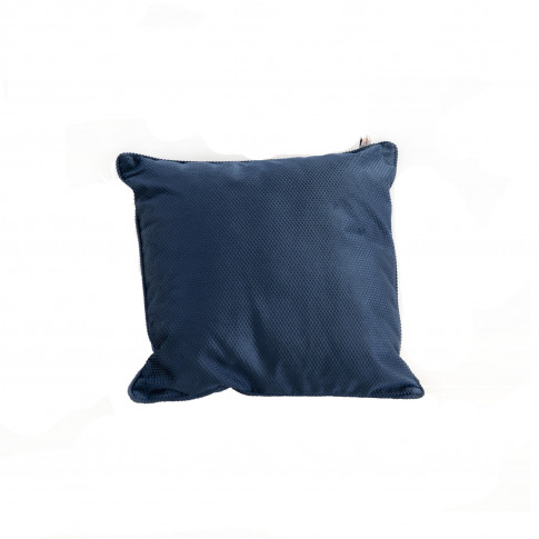 Studio G Pembroke Velvet Cushion, Navy