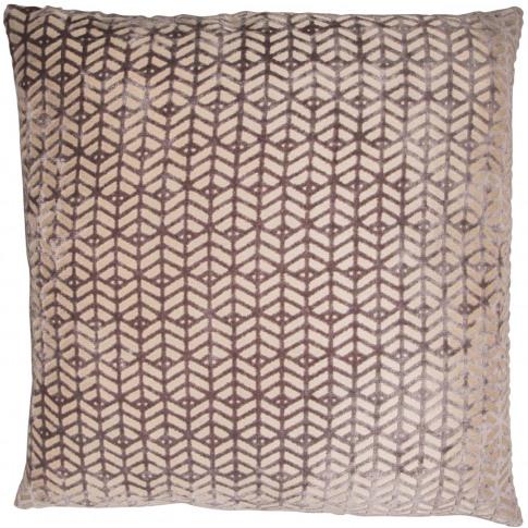 Malini Dua Cushion, 43cm X 43cm, Grey
