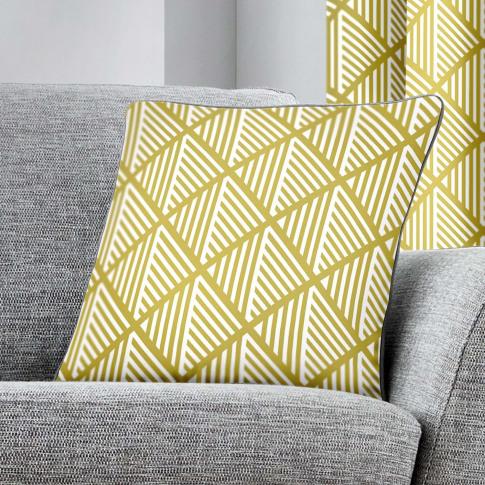 Rosenthal Fusion Brooklyn Cushion, Ochre