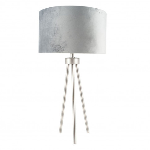 Pacific Lifestyle Tripod Table Lamp, Chrome
