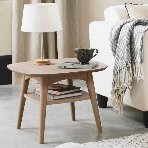 Casa Ottawa Lamp Table With Shelf