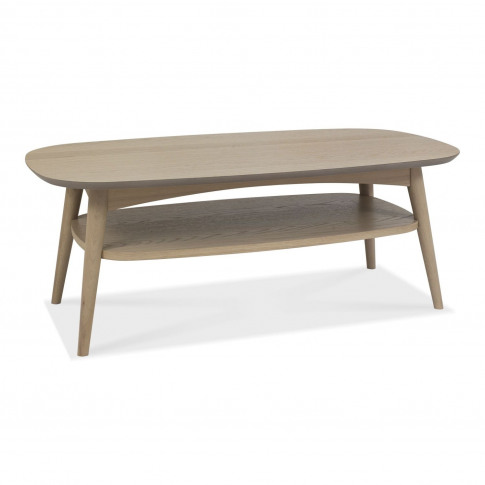Casa Ottawa Coffee Table With Shelf