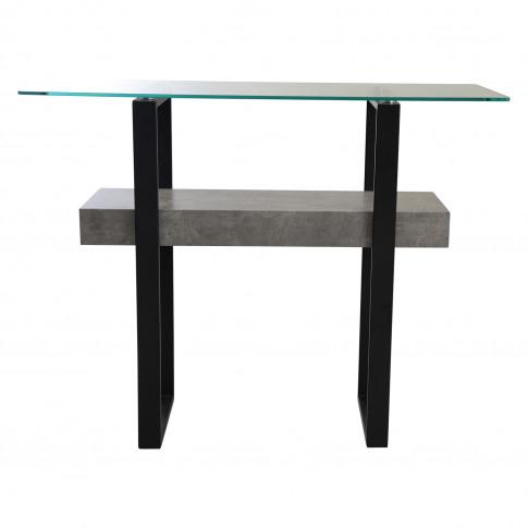 Casa Newton Sofa Table, Light Concrete