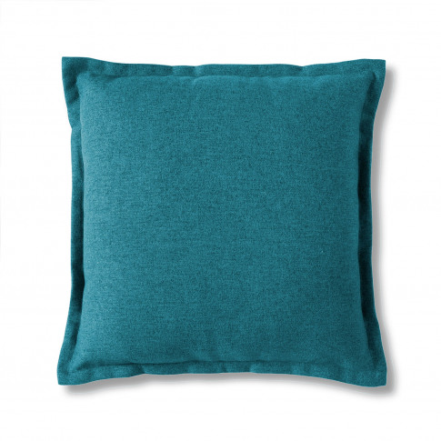 Gallery 2 Tone Plain Cushion, Blue
