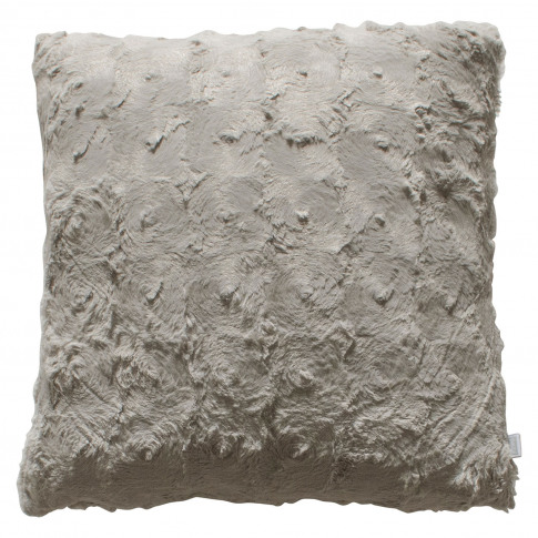 Gallery Stellan Fur Cushion, Taupe