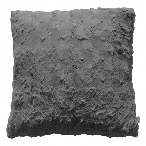 Gallery Stellan Fur Cushion, Grey