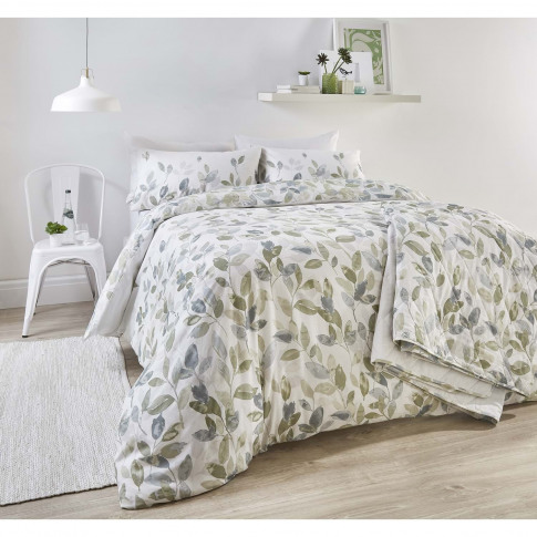 Rosenthal Juniper Duvet Set, Superking, Green