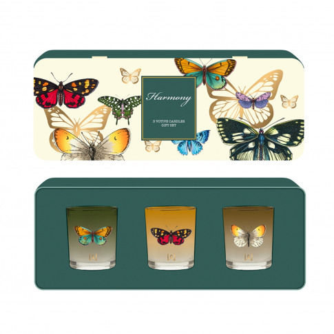 Made In England Votive Gift Set Harmony