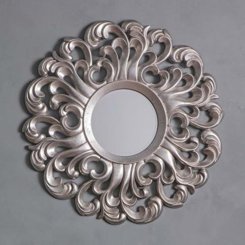 Gallery Bardwell Mirror, Silver