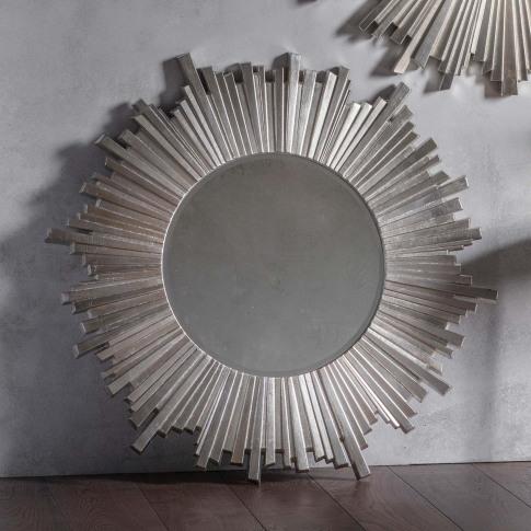 Gallery Herzfeld Mirror, Silver