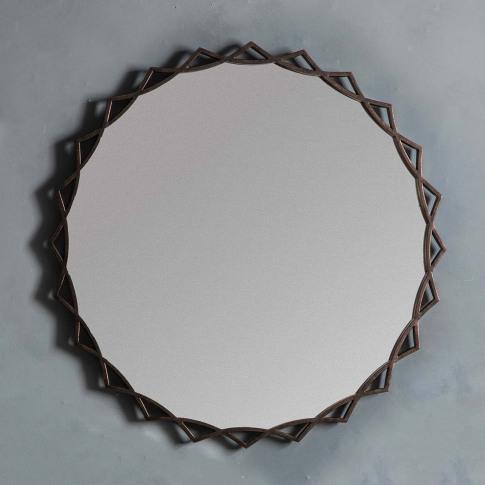 Gallery Novia Mirror, Bronze