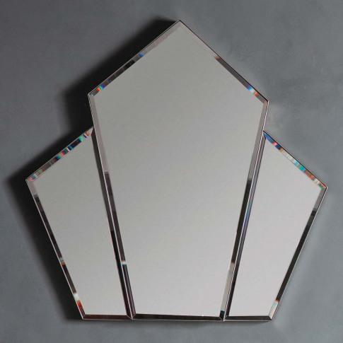 Gallery Voiste Mirror, Silver