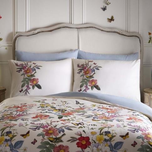 Oasis Ava Pillowcase Pair, White