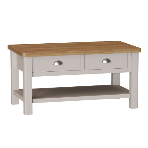 Casa Portland Coffee Table With Drawers