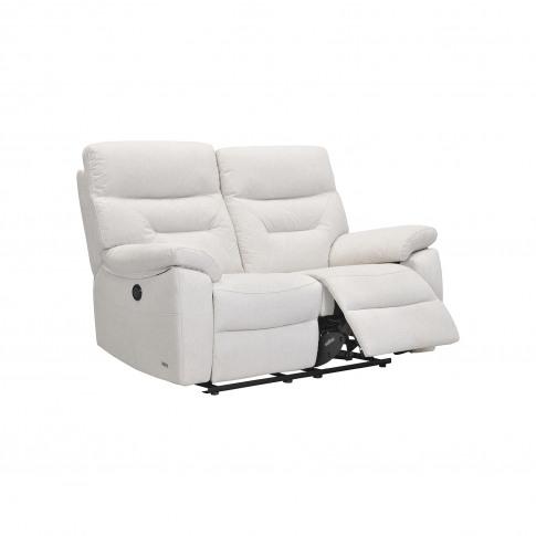 Casa Indianna 2 Seater Power Recliner Fabric Sofa, S...