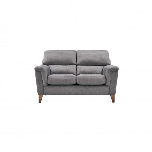 Casa Bourton 2 Seater Fabric Sofa, Forge Heather