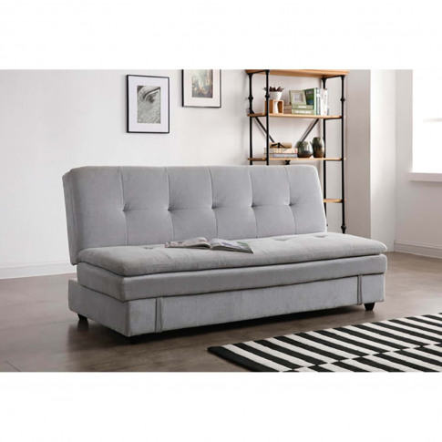Casa Ollie Fabric Storage Sofabed, Misty