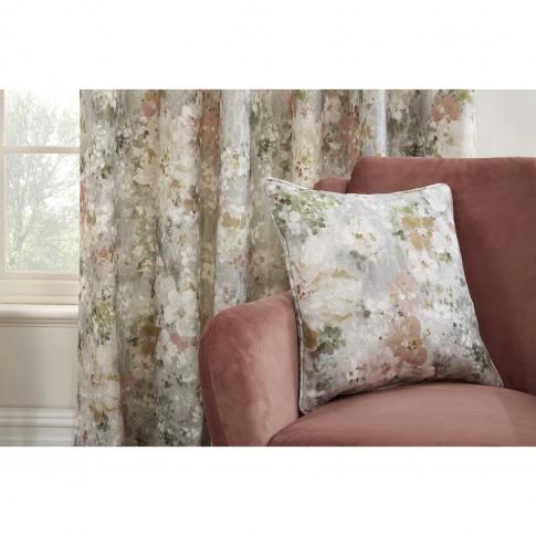 Sundour Giverny Cushion Cover, 43 X 43cm, Moonstone