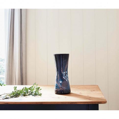 Poole Pottery Celestial Hourglass Vase