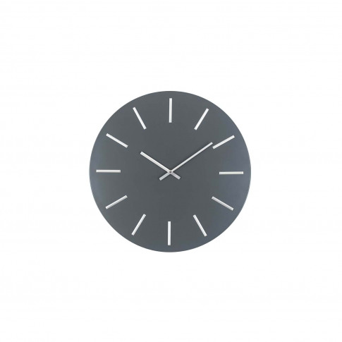 Pacific Lifestyle Grey And Silver Wall Clock