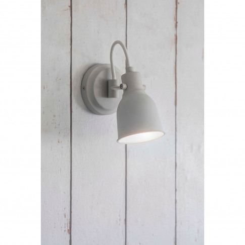 Garden Trading Walton Wall Light, Chalk