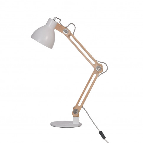 Garden Trading Elder Desk Lamp, White
