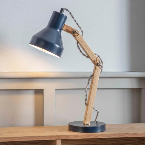 Garden Trading Folgate Desk Lamp, Ink